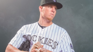 Former OU pitcher and current Rockies Pitcher Jon Gray supports the OU Club of Colorado!