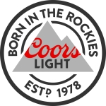 Coors Light Round Logo